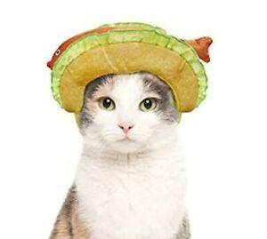 Hyde & EEK Boutique Multicolor Fish Taco Headpiece Costume Cat Hat Size One