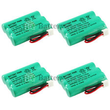 4 Home Phone Rechargeable Battery for V-Tech 89-1323-00-00 Model 27910 400+SOLD