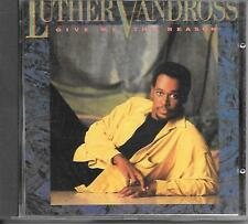 LUTHER VANDROSS - Give me the reason (AUSTRIA PRINT) CD Album 9TR 1986 (EPIC)