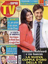 Dipiù Tv 2016 43#Alessandra Mastronardi & Lino Guanciale,Asia Argento,Luca Turco