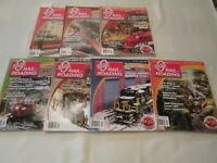 O Gauge Railroading Magazine 1 Full Year 2009 ( 7 ISSUES)