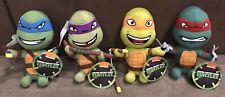 Set Of 4 - Teenage Mutant Ninja Turtles Plush - 20cm Leonardo TMNT - BNWT