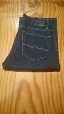 """Homme Teddy Smith Neo REG UK D BR Jeans Taille W30"""" X L28"""" Bleu Foncé BX2"""