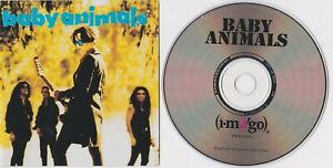 The Baby Animals self titled CD Painless Australia VGC & Free Fan DVD