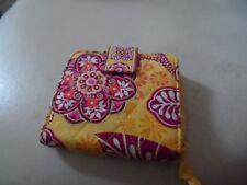 Vera Bradley bifold wallet in Bali Gold retired pattern