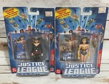 Justice League Unlimited Lot of 2 NEW Action Figures Wonder Woman Hawkgirl