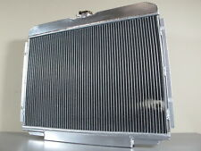 3-ROW Forged ALUMINUM RADIATOR Ford Mustang Mercury Cougar XR7 Torino 1967-1970