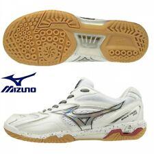Mizuno Badminton Shoes Wave Fang Pro 71Ga1700 White x Aurora