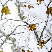 "Three (3) Realtree AP Snow Camo Square Cloth Napkins 18"" x 18"""