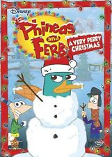 Phineas and Ferb: A Very Perry Christmas [New DVD] Full Frame, O-Card Packagin