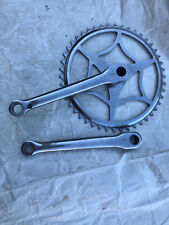 "VINTAGE RALEIGH LIGHTWEIGHT BICYCLE CHAINSET.46 TEETH TO SUIT 3/32"" CHAIN"