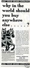 1931 Sears Roebuck And Co. Horse Harness Headquarters Vintage Print Ad