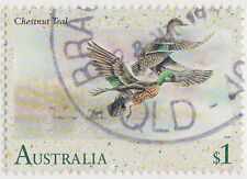 (DB1681) 1991 AU $1.00 Australian water birds (B)