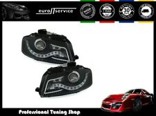SET HEADLIGHTS VP500 AUDI A3 8P 2003 2004-2008 SPORTBACK CABRIO BLACK