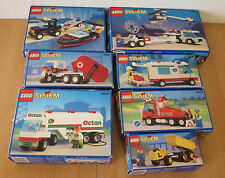 (J2) Lego Système avec Emballage D'Origine & Ba Complet