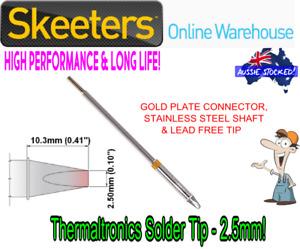 Thermaltronics Solder Tip - 2.5mm