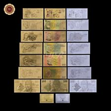 WR 24K GOLD SILVER  Old Commonwealth Australia Phillips Banknotes Set