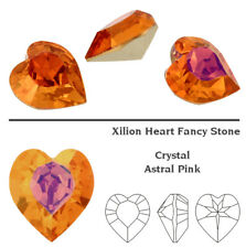 Genuine SWAROVSKI 4884 XILION Heart Fancy Stones Crystals * Many Sizes & Colors