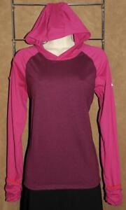 NIKE - Running Dri Fit - Pink Purple - Athletic / Workout HOODIE Shirt sz L