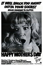HAPPY MOTHERS DAY, LOVE GEORGE Movie POSTER 27x40 Patricia Neal Cloris Leachman