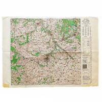 WWII 1944 First Edition War Office Map of 'Chartres' France Artillery Map Relic