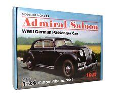 Opel Admiral WW II Personenwagen 1:24 ICM 24023 Bausatz NEU & OVP