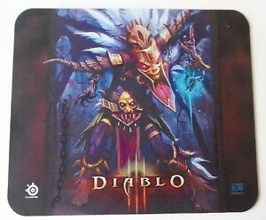 """SteelSeries QcK Diablo III 3 Witch Doctor Gaming Mouse Pad 12""""x11"""" Medium Size M"""