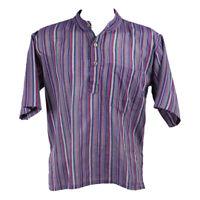 The Hippy Clothing Co. - Men's Short Sleeve Grandad Shirts