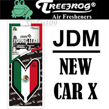 Treefrog Wakaba Japan Young Leaf JDM Air Freshener Mexico Flag - New Car X Scent