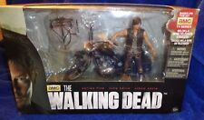 MCFARLANE WALKING DEAD TV DARYL DIXON Action Figure W/ CHOPPER Deluxe Boxed set