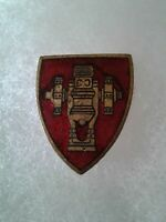 Authentic WWII US Army Field Artillery School Unit DI DUI Crest Insignia MEYER