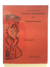 COLLECTION STUCKER HISTOIRE NUMISMATIQUE PROTESTANTISME 1977 NUMISMATIE ILLUST
