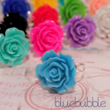 Statement Costume Rings Sizable Flowers & Plants