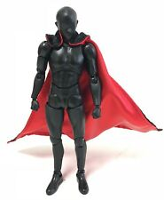 "SU-TH-R2: Reversible two tone red and black wired cape for 6"" figure (No Figure)"