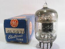 One 1950 GE GL-5670 (2C51,396A) tube - Hickok TV7B tests @ 40/40, min:26/26