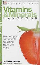 Very Good, Vitamins and Minerals Handbook (Natural Care Handbook), Ursell, Amand