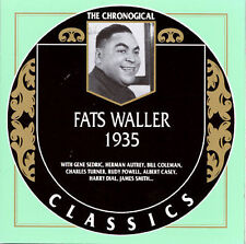 Fats Waller - 1935 CD- Mint Condition- 22 Tracks- Rare OOP