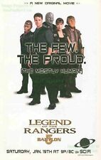 Babylon 5: Legend of the Rangers Movie: Great Original Photo Print Ad!