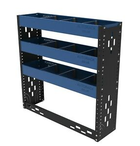 Van Racking System - Professional steel van shelving unit - ideal for small vans
