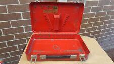 Vintage Sidchrome Tool Box Toolbox Cat No. 390-6