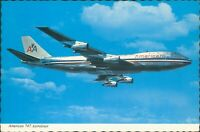 American Airlines 747 Astroliner Continental Card
