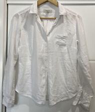 EUC Women's Sz XS COUNTRY ROAD Long Sleeve Button Down Cotton Tencel Shirt