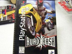 "playstation ""road rash"",1995,LOOK!atari,mint!"