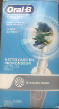 Oral-B Vitality Floss Action Electric Rechargeable Toothbrush Open Box No Head