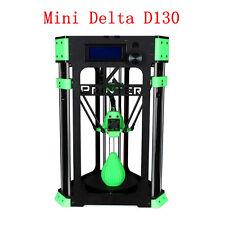 Delta DIY 3D Printer Kit Mini Delta D130 4GB SD Crd bundle Cable+Filament sample