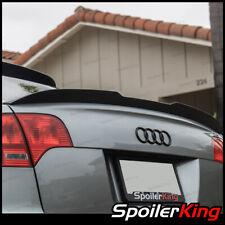 Rear Trunk Spoiler DUCKBILL w/center cut 284GC (Fits: Audi A4 2005-2008 B7 4dr)