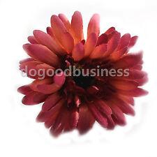 55cm Artificial Gerbera Daisy Flowers with Leaf DIY Wedding Garden Party