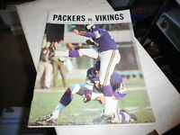SEPT 22 1968 GREEN BAY PACKERS vs MINNESOTA -  NFL FOOTBALL PROGRAM