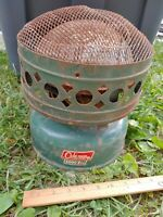 1960s Coleman 5000BTU Model 511-A VTG CATALYTIC HEATER Green Camping Tent Old