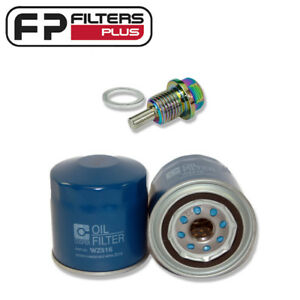 WZ516 Wesfil Oil Filter + Magnetic Sump Plug - Ford Falcon BA, BF, FG - Z516